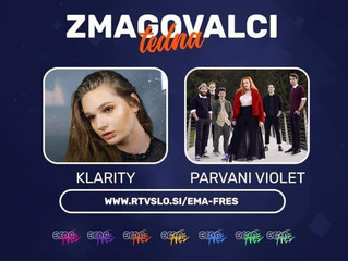 Eurovision l Klarity and PARVANI VIOLET have won this weeks duel in EMA FREŠ