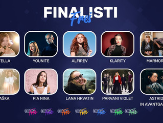Slovenia l Parvani Violet and Saška are through to the final of EMA 2020