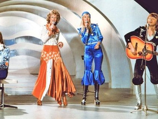 "Eurolysing Lyrics l ABBA with ""Waterloo"" (1974)"