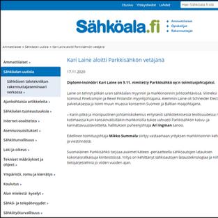 Sähköala.fi 17.11.2020