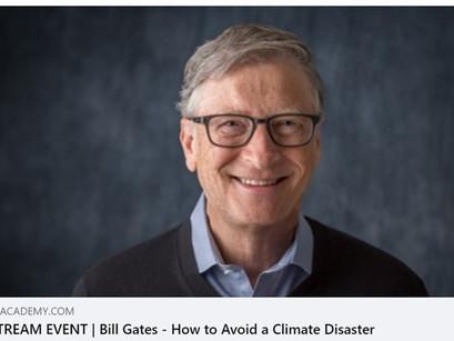 Parkkisähkö mukana Bill Gatesin ja Alok Sharman ilmastokeskustelussa