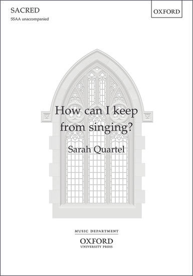 How can I keep from singing_