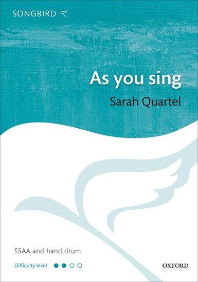 As you sing