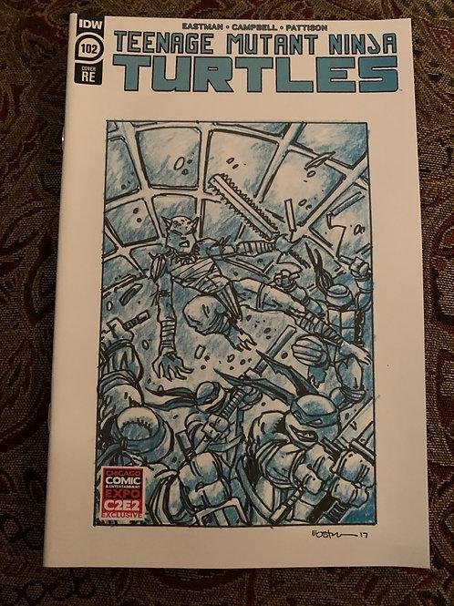 Teenage Mutant Ninja Turtles CB4K Variant