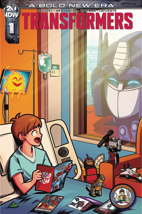ComicBooks For Kids! Transformers #1