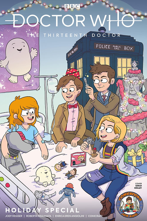 ComicBooks For Kids! Doctor Who Christmas Special