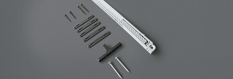 Einzugsdämpfer einseitig für Türen max. 40 kg (Holztüren)