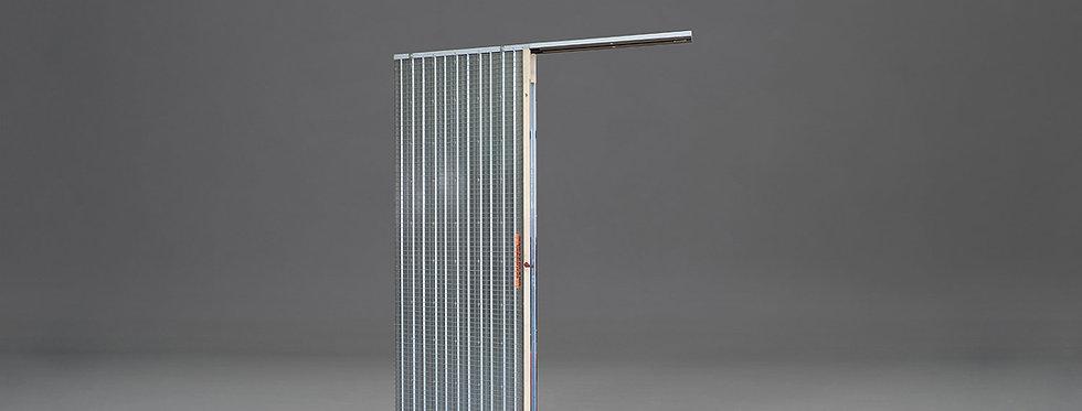 Mauerwerk-Schiebetürkasten für einflügelige Tür