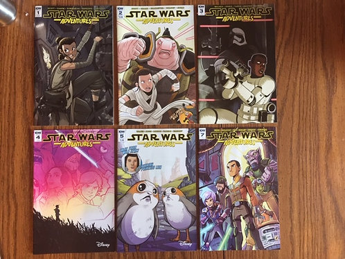Star Wars Adventures comics and ComicBooks For Kids! Puppy Coloring Book set