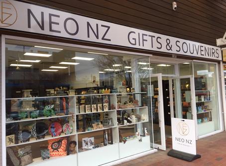ロトルアに新規開店した可愛いギフトショップ【NEO NZ】がオープニングセール中!