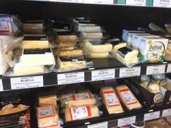 チーズも種類が豊富