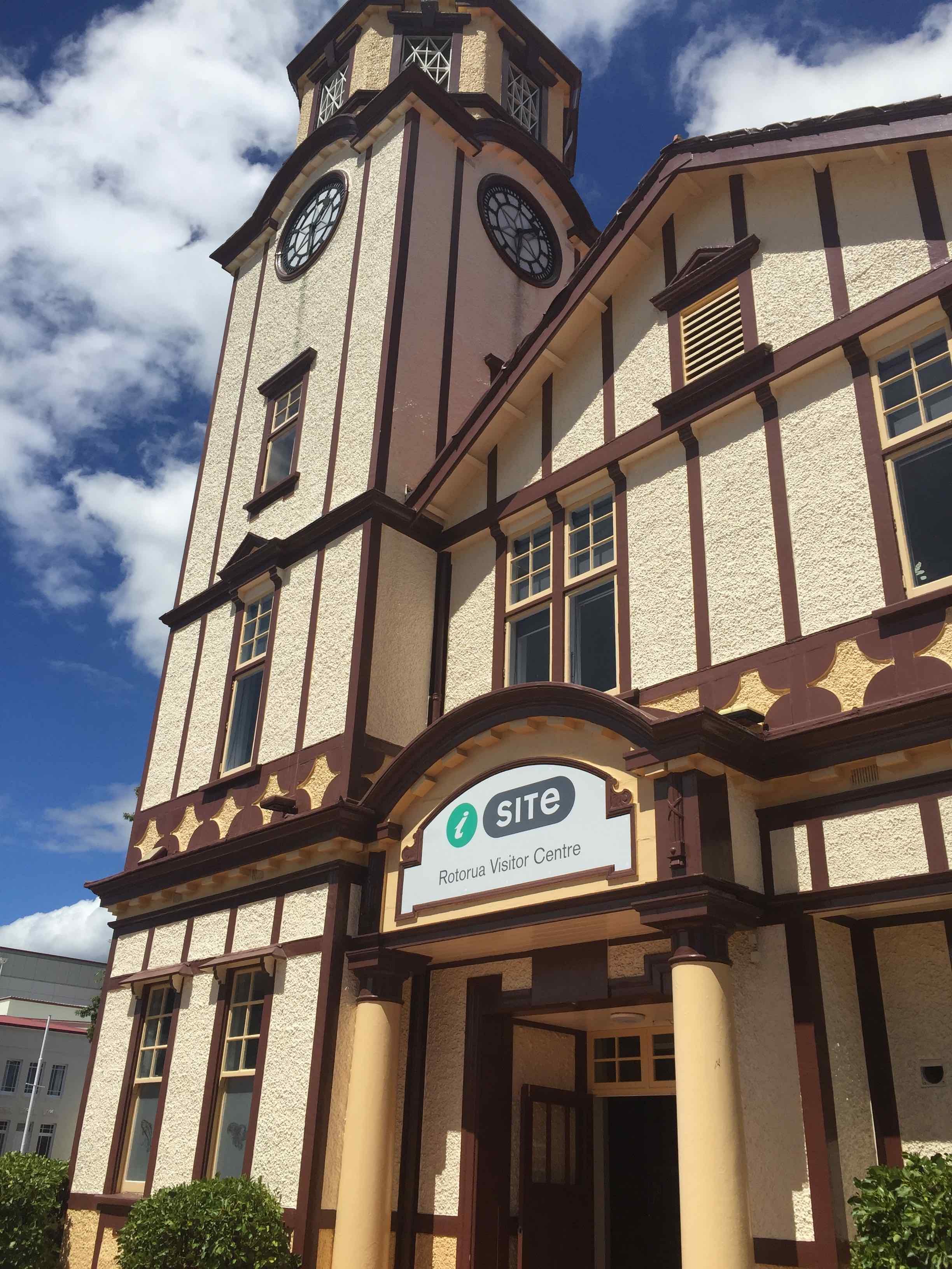 街のランドマークになっている建物