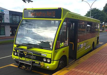 ロトルア市内路線バス