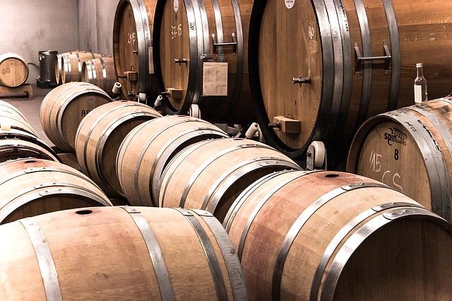 ワイン醸造場