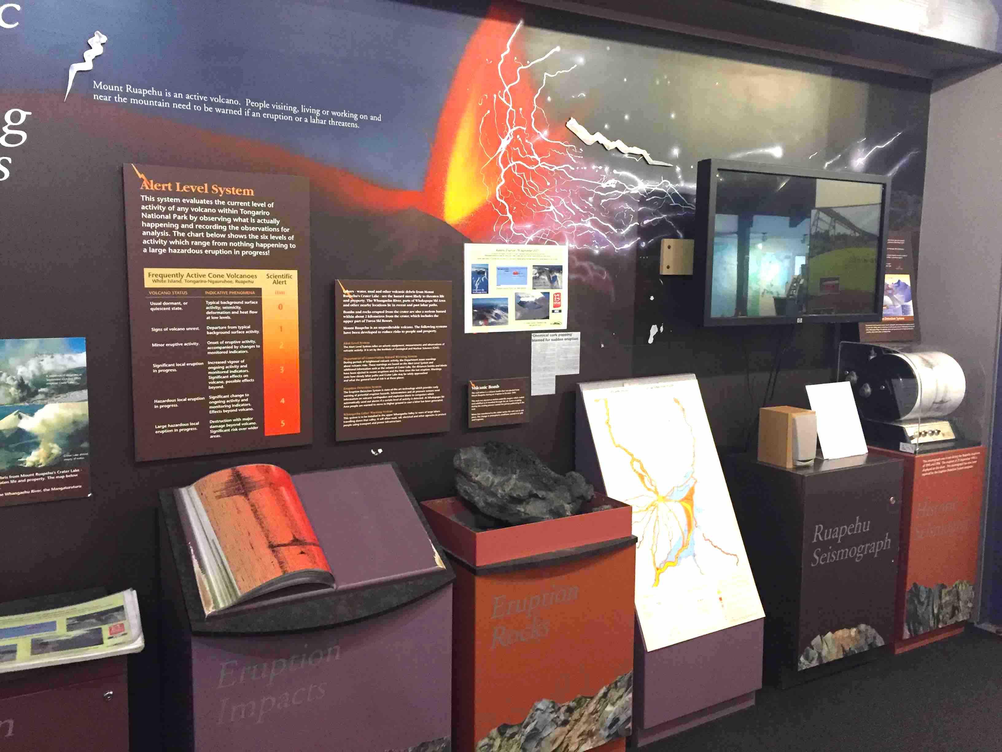 噴火の展示物