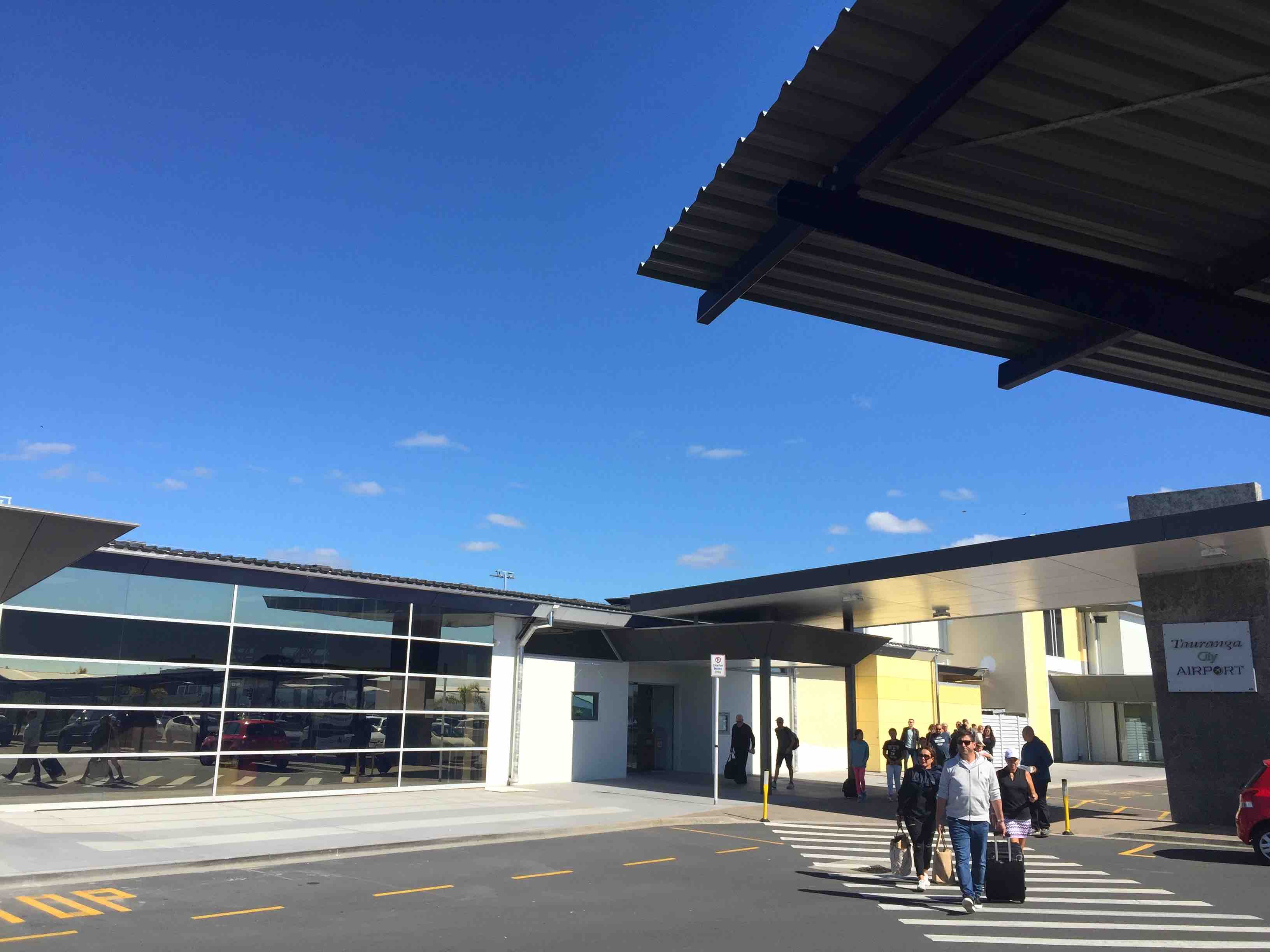 タウランガ空港4