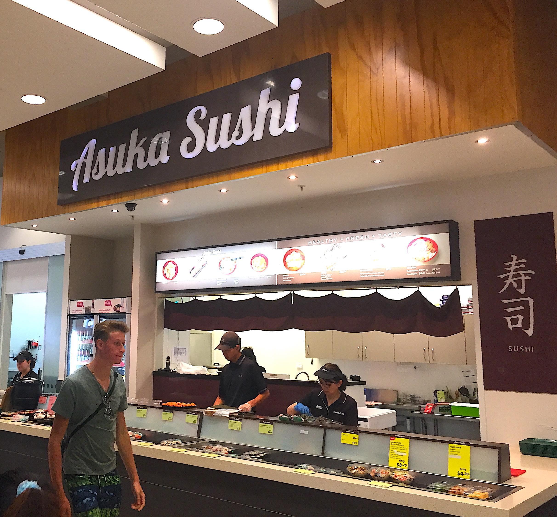 お寿司はNZでも人気