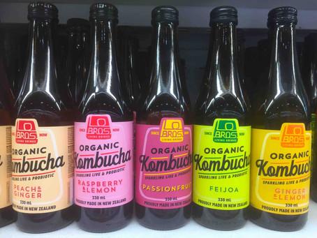 昆布茶?NZの『KOMBUCHA』は免疫力を高めてくれる健康飲料