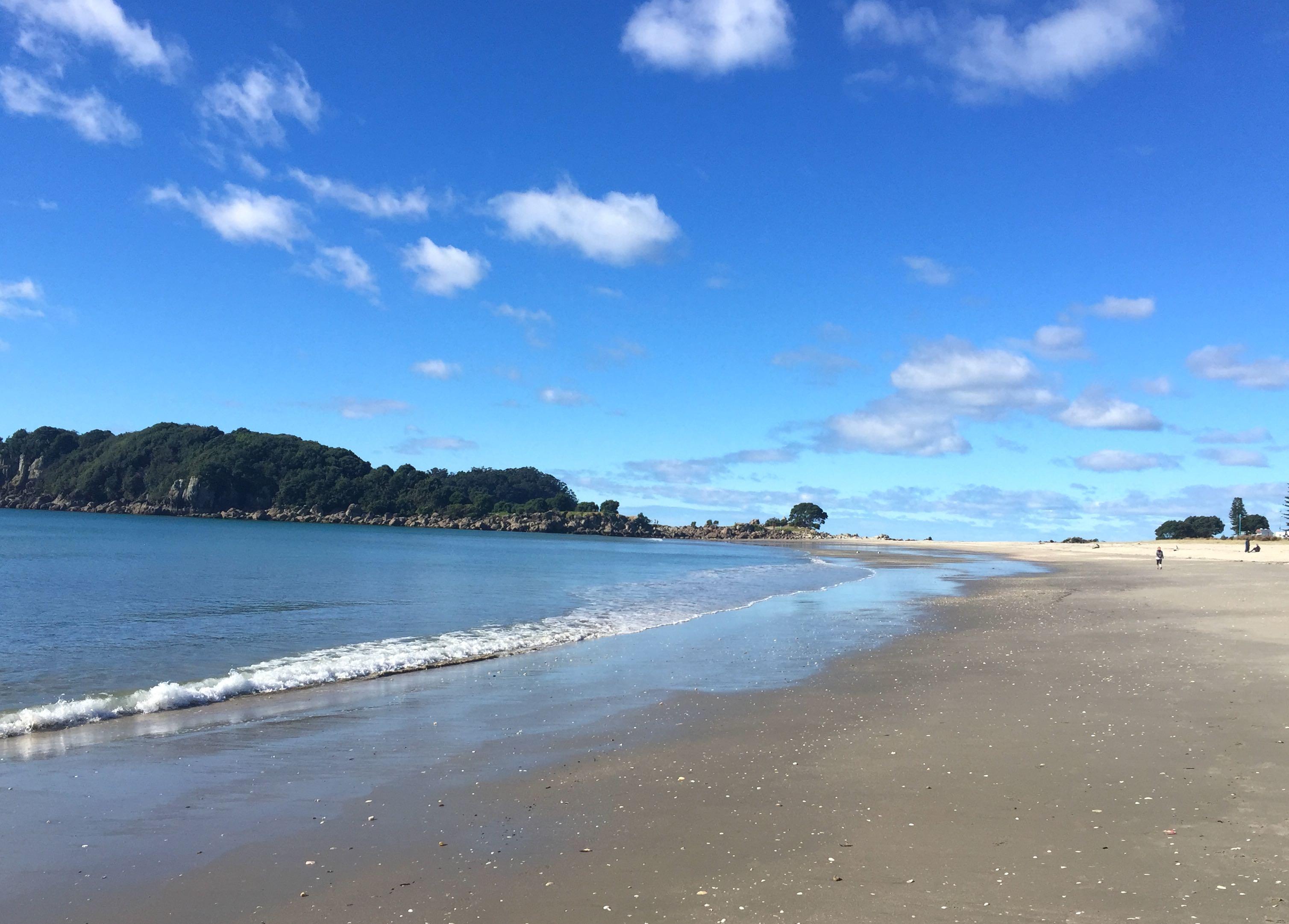 夏は海水浴ができるビーチ