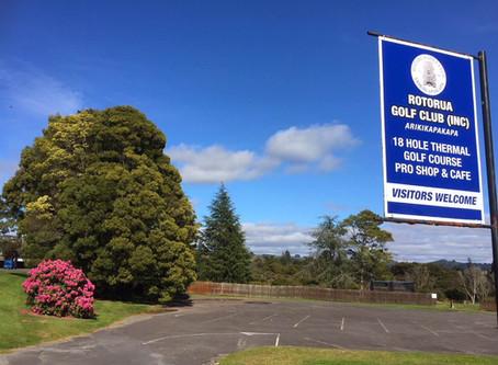 NZ唯一地熱地帯にあり百年超の歴史をもつ【ロトルアゴルフクラブ・アリキカパカパ】