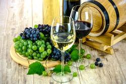 白と赤ワイン