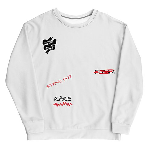 RARE Sweatshirt (White)