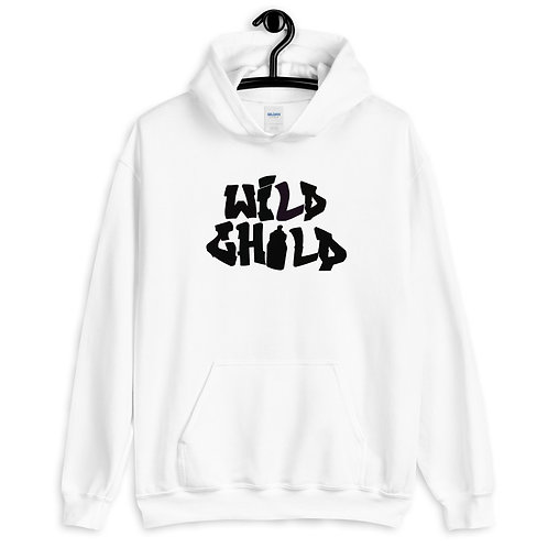 Wild Child Hoodie, Red Baby Face