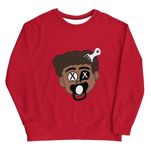 Made Ya Look Sweatshirt (Red)