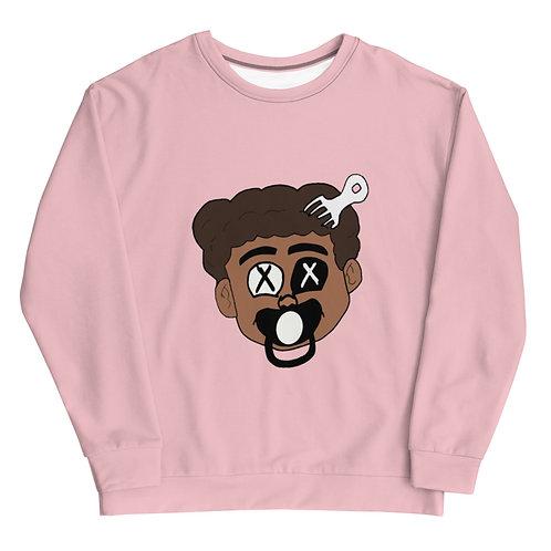 Made Ya Look Sweatshirt (Pink)
