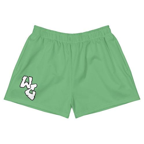 Women's Green WC Shorts