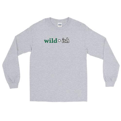 Wild-ish Long Sleeve Shirt (Green/White)