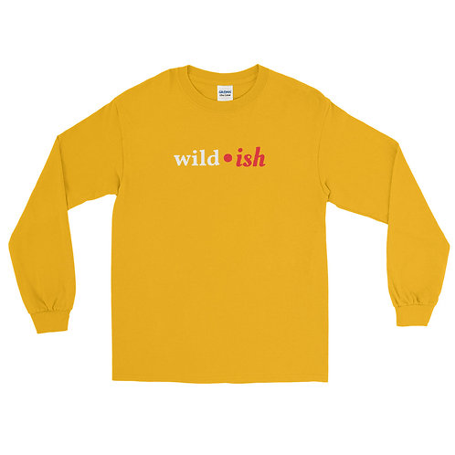 Wild-ish Long Sleeve Shirt (Red/White)