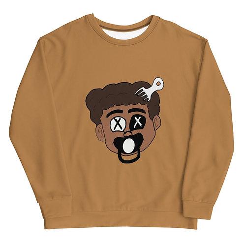 Made Ya Look Sweatshirt (Nude)