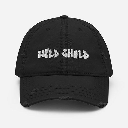 Wild Child Distressed Dad Hat