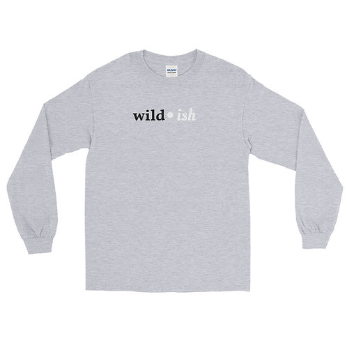 Wild-ish Long Sleeve Shirt (Black/White)