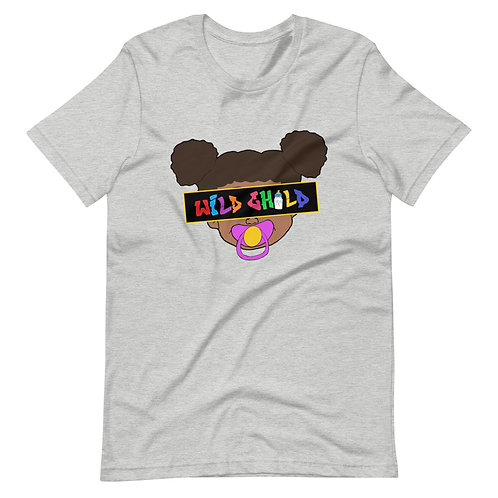 Colorful Female Block Face Tee