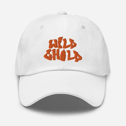 Orange Letter Dad hat