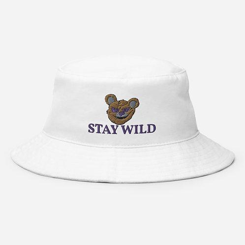 Stay Wild Bucket Hat (Purple)