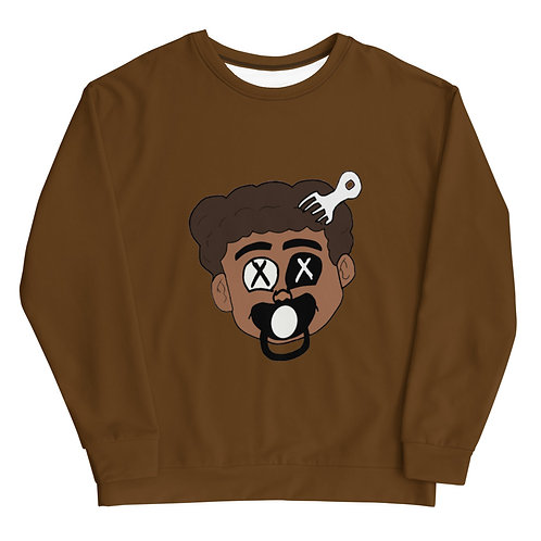 Made Ya Look Sweatshirt (Mocha)