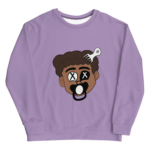 Made Ya Look Sweatshirt (Purple)