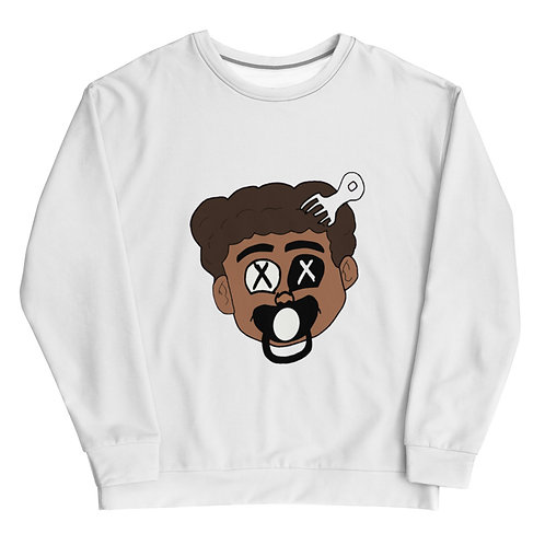 Made Ya Look Sweatshirt (White)