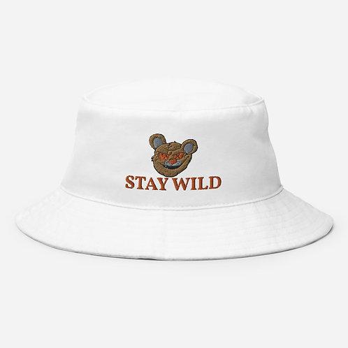 Stay Wild Bucket Hat (Orange)