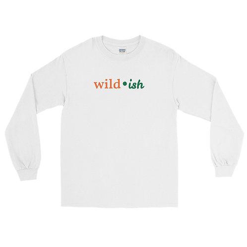 Wild-ish Long Sleeve Shirt (Orange/Green)