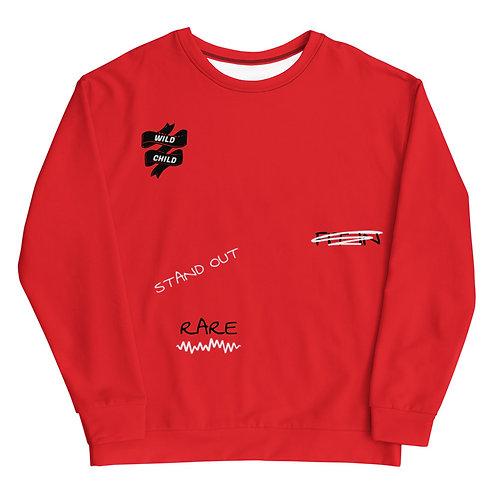RARE Sweatshirt (Red)