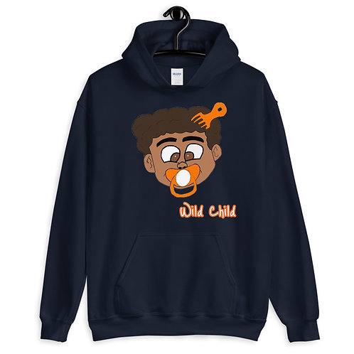 Orange Themed Wild Child Hoodie