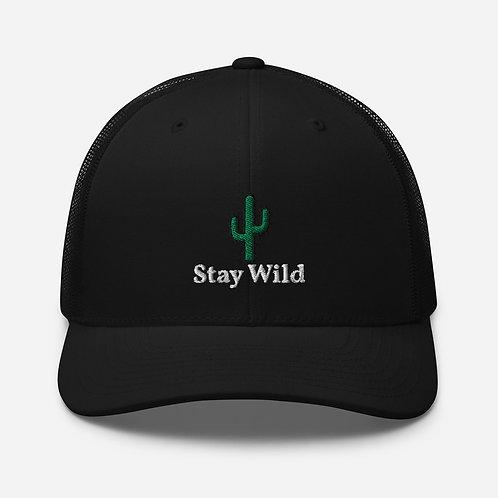Stay Wild Trucker Cap