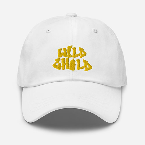 Mustard Yellow Letter Dad hat