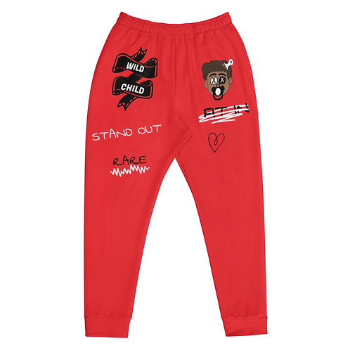 RARE Joggers (Red)