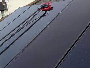 Solar panel cleaning Somerset, Taunton & Devon, Exeter