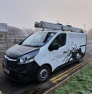 Window Cleaning van Somerset and Devon